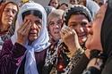 Kurdish women in northern Syria