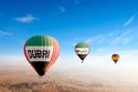 Enjoy a Hot Air Balloon Ride over Dubai's desert dunes, from 3,000 ft