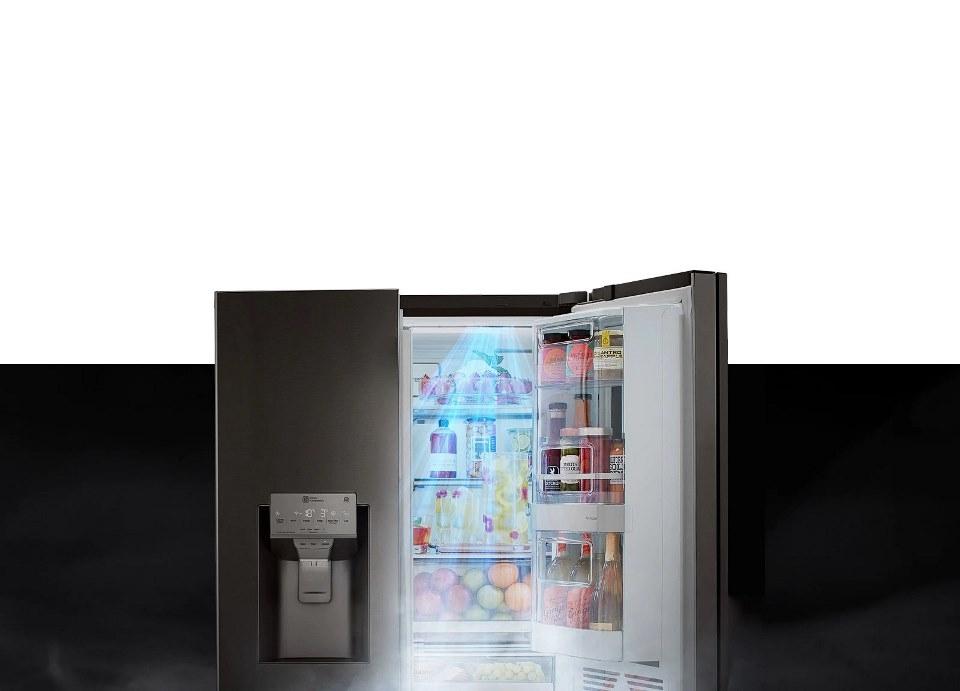 lg door to door cooling