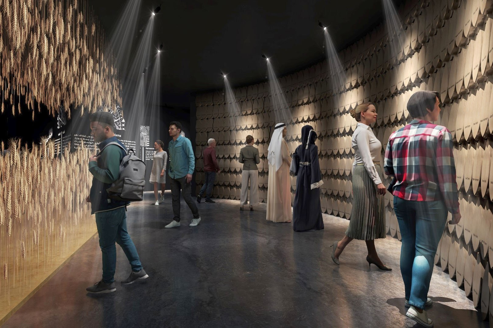 World's First Alphabet To Be Showed at Expo 2020 Dubai Syrian Pavilion
