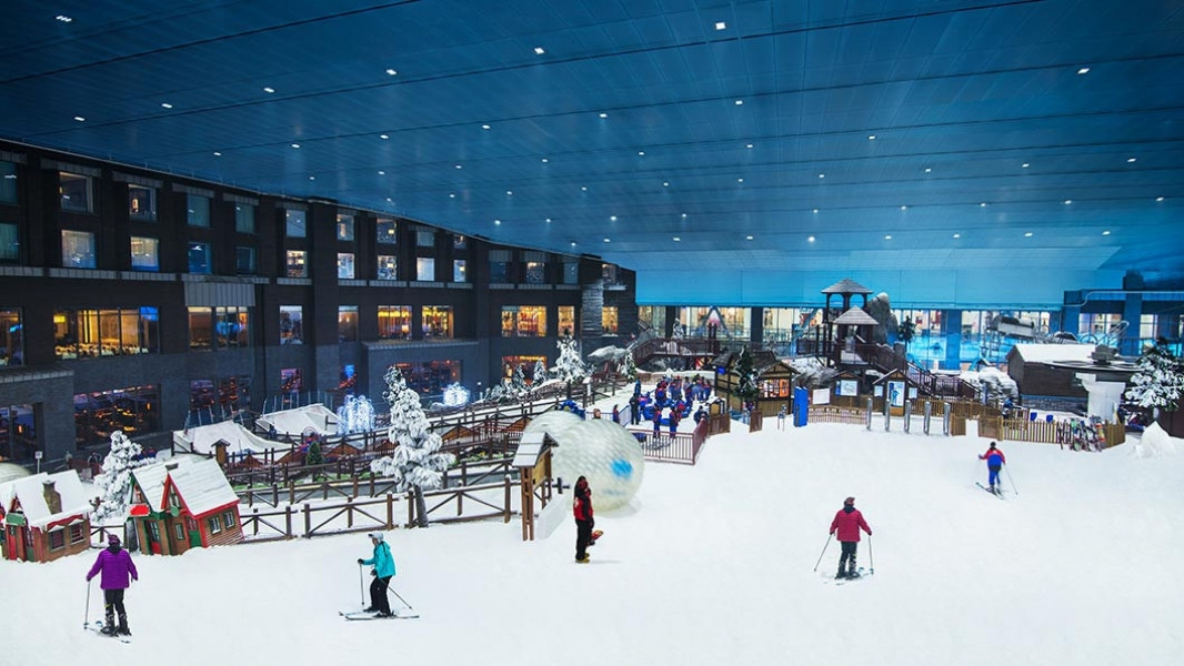 Experience Winter Vibes in Dubai This Summer!