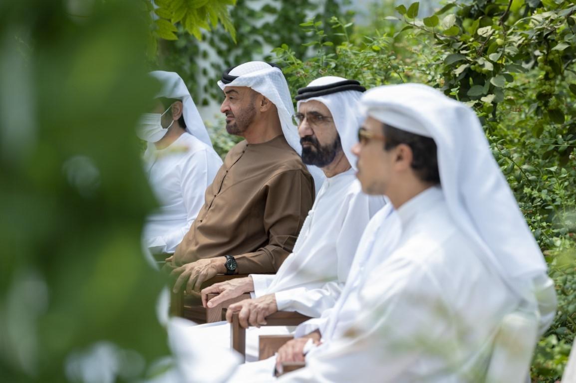 UAE Leaders Discuss National Agenda