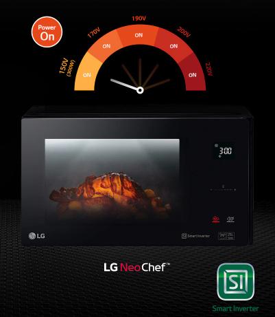 LG Microwave Power