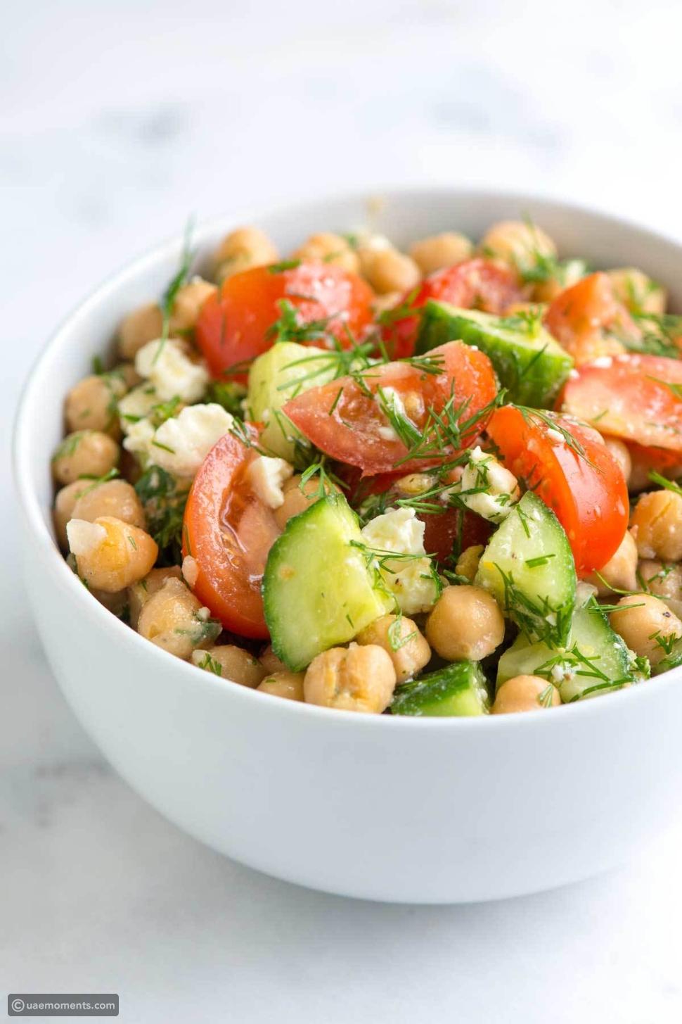 Easy Chickpeas Salad