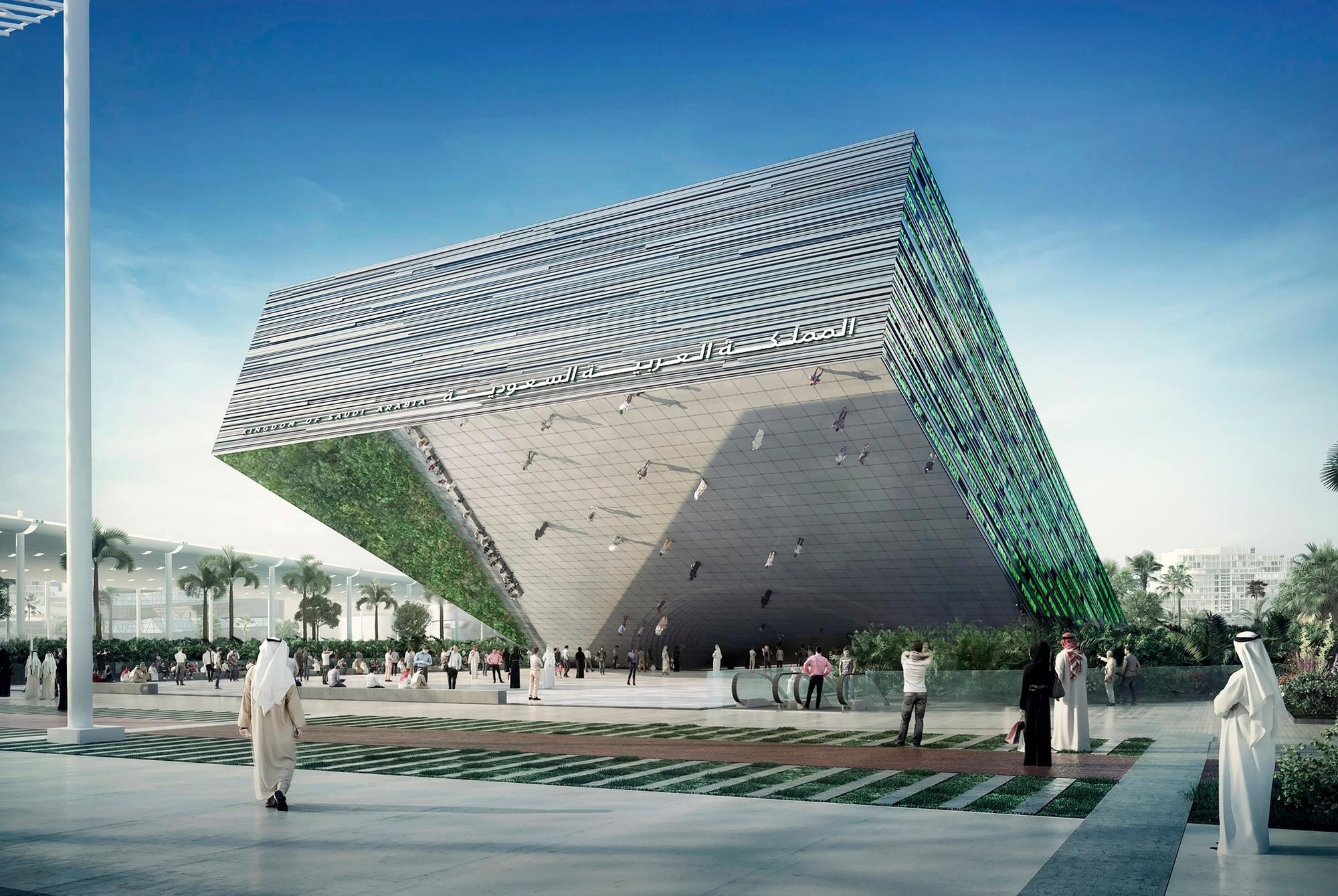 Sheikh Mohammed Visits Oman and Saudi Pavilions at Expo 2020