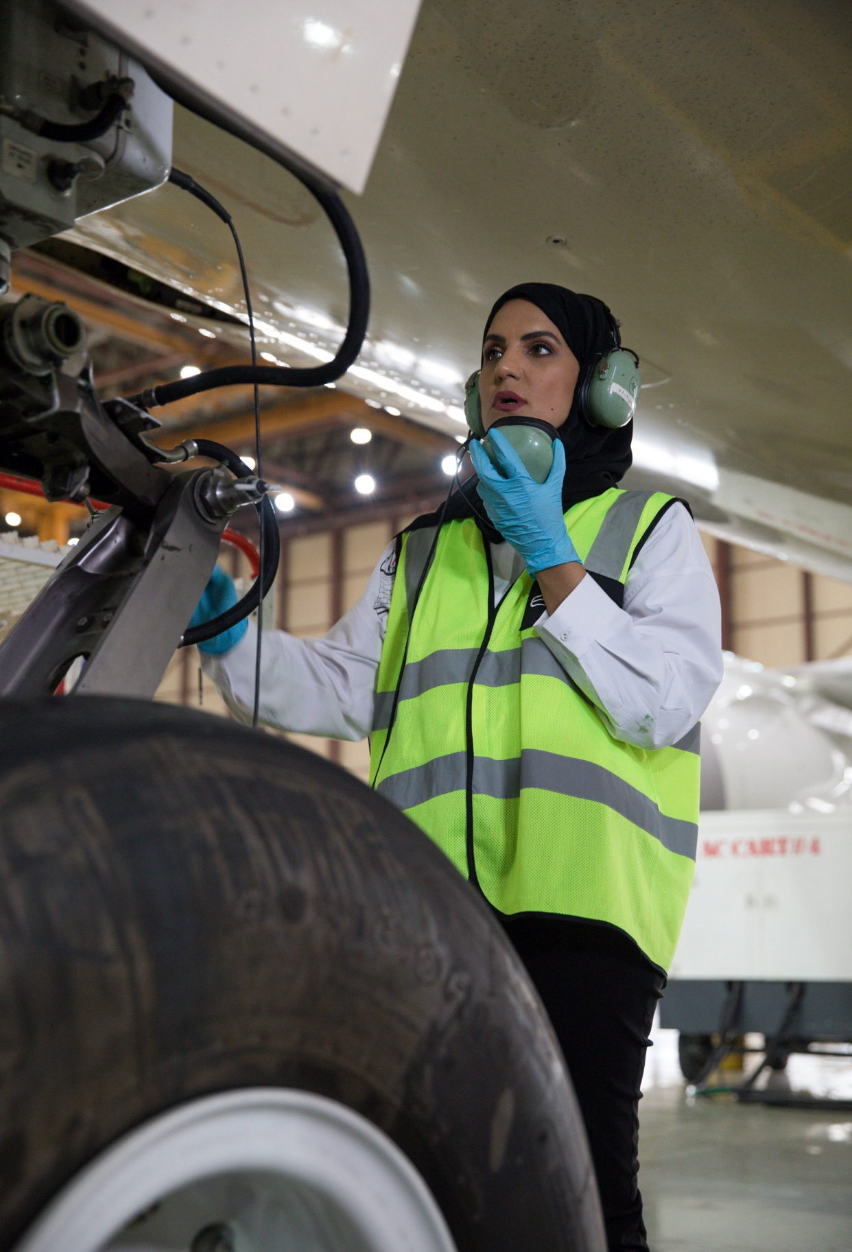 Exclusive Interview With The First Female Emirati Aviation Engineer