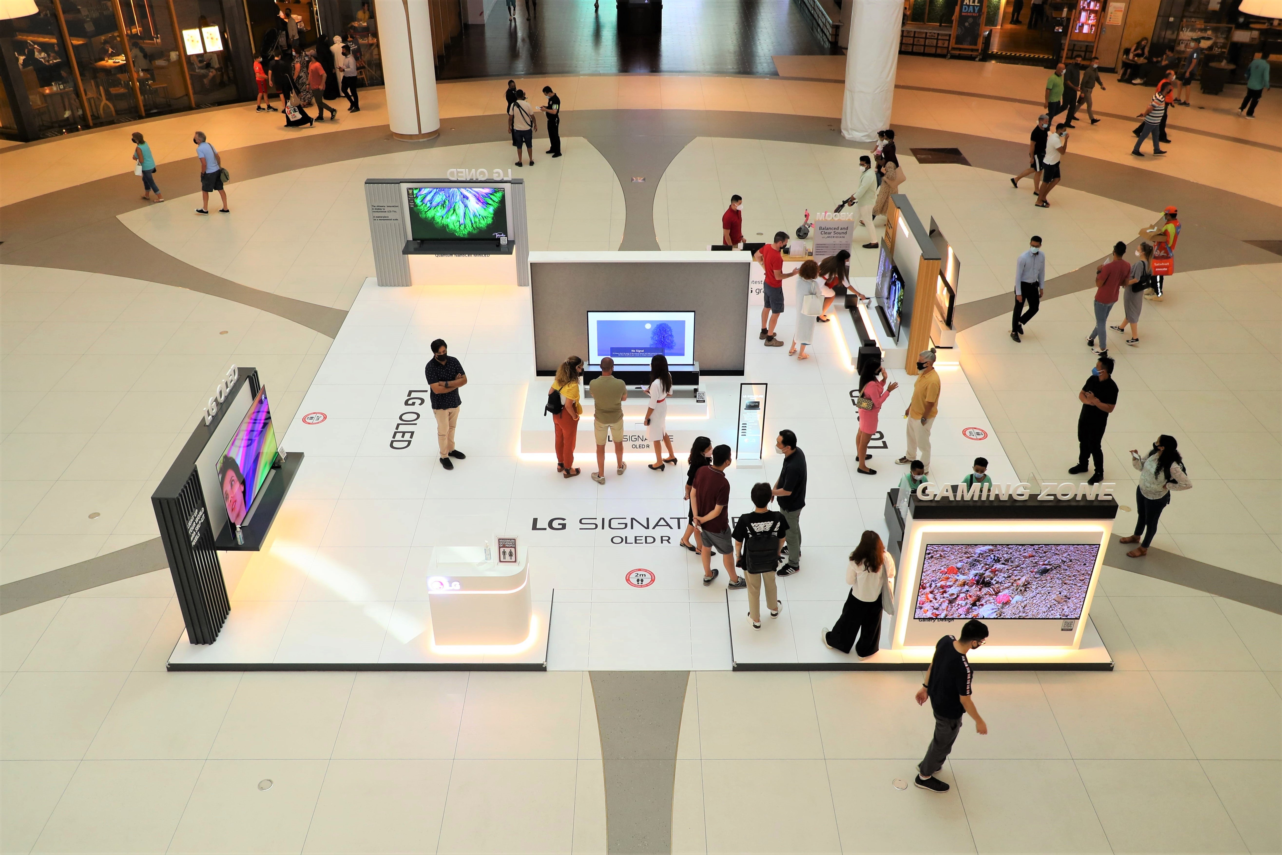 Experience The Power Of OLED With LG At The Dubai Mall