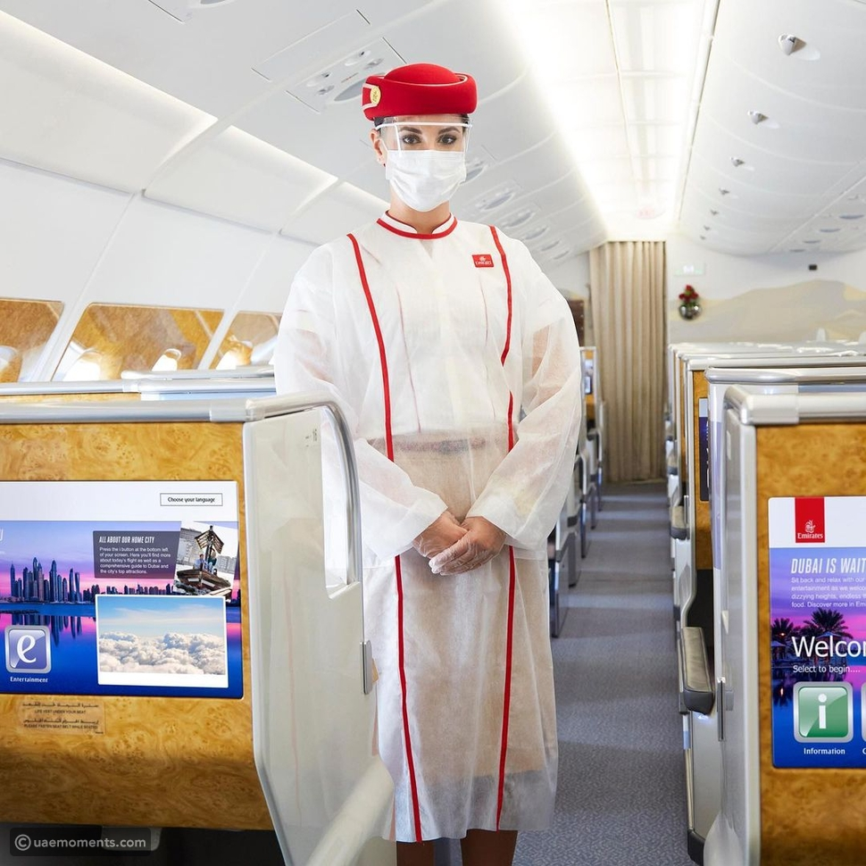 Want To Apply As Emirates Cabin Crew? Here's How Much They Earn