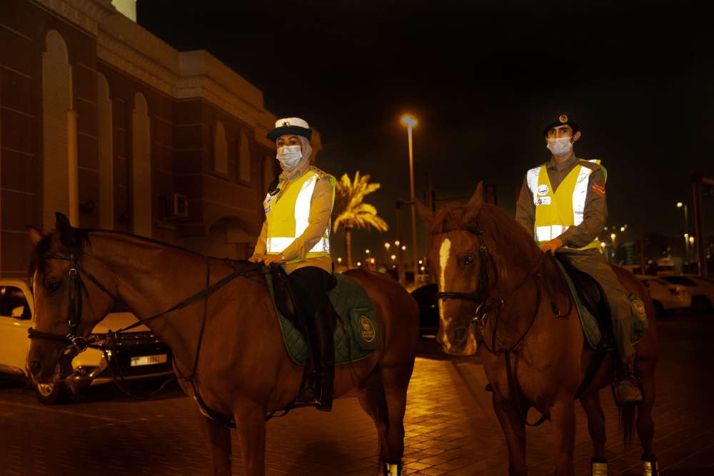 Dubai's First Female Mounted Police Officer