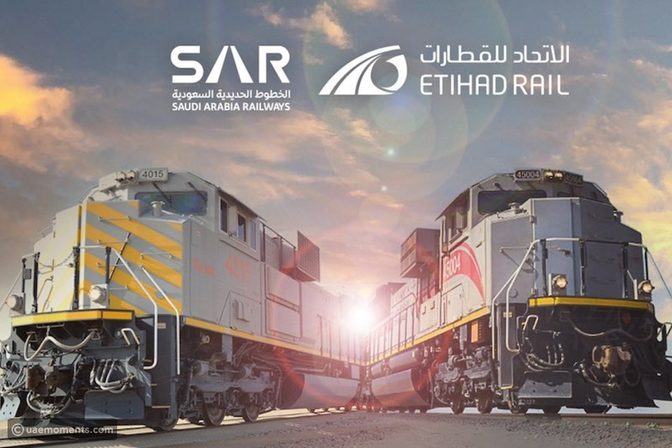 Pictures: Etihad Rail To Connect The 7 Emirates With Saudi and GCC