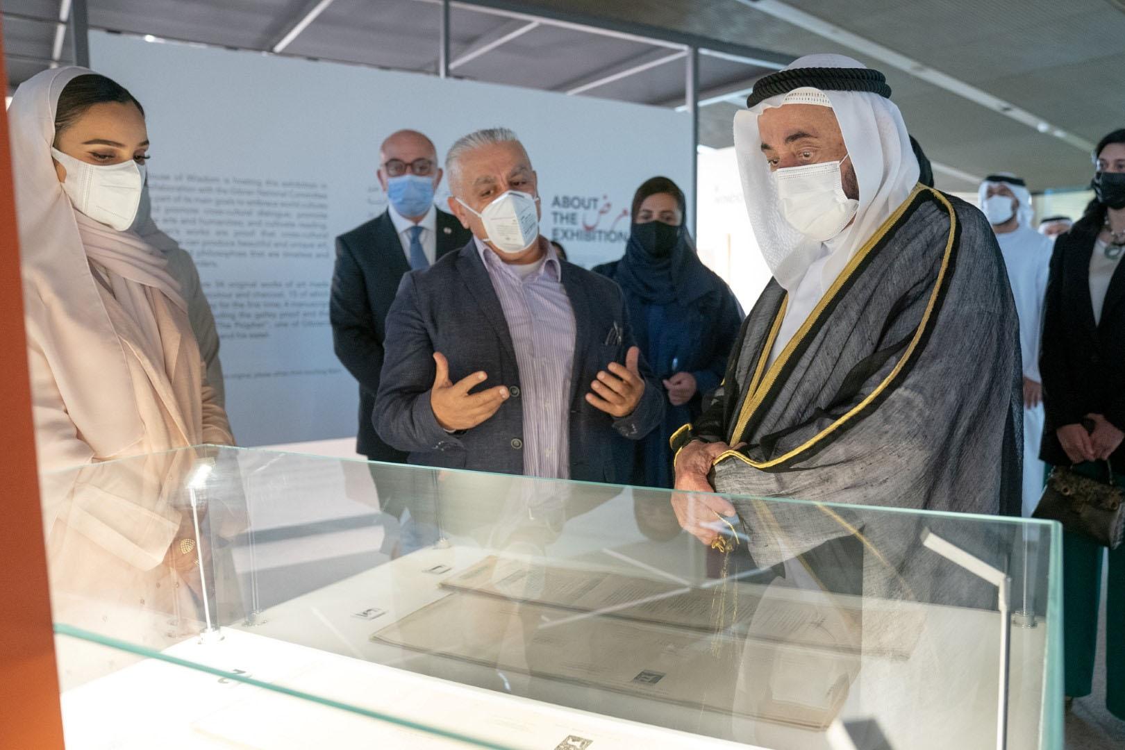 Sharjah Ruler Inagurates Exhibition for Khalil Gibran