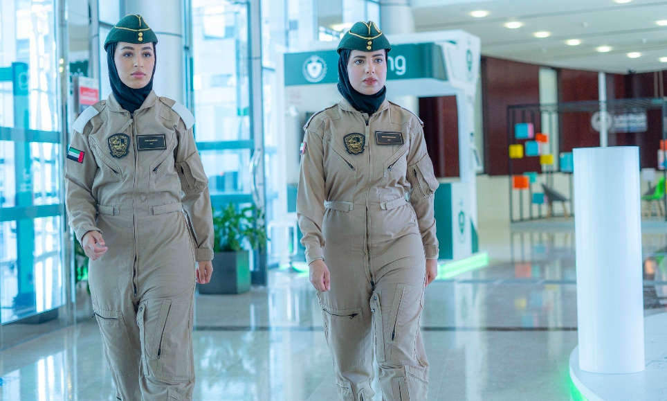 Meet The Two Female Pilots Who Joined Dubai Police Air Wing