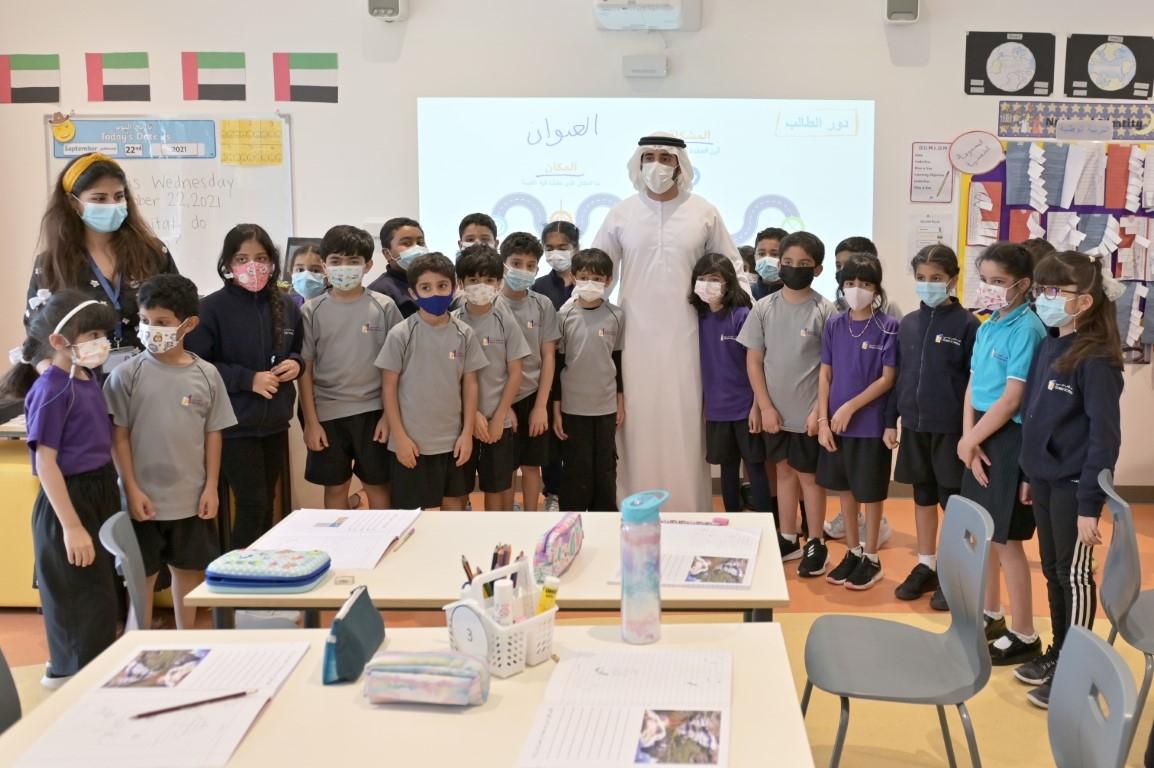 Sheikh Hamdan Visits Dubai School