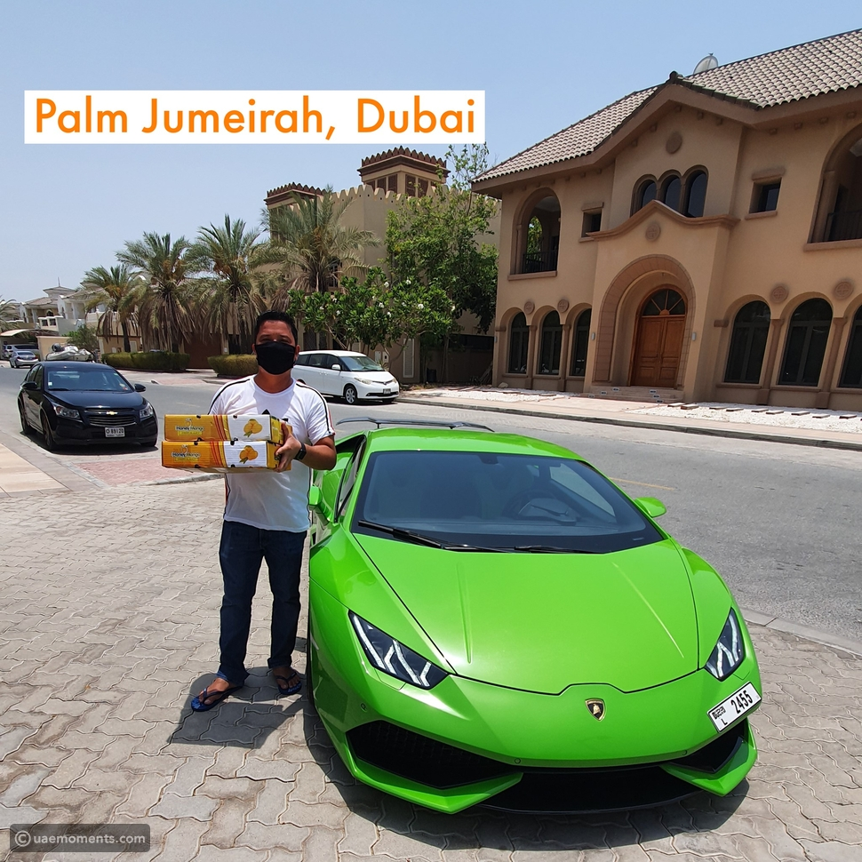 Dubai: Mangoes Delivered At Your Door With A Lamborghini