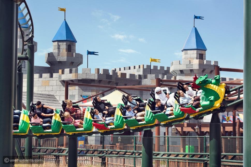 rollercoaster legoland dubai
