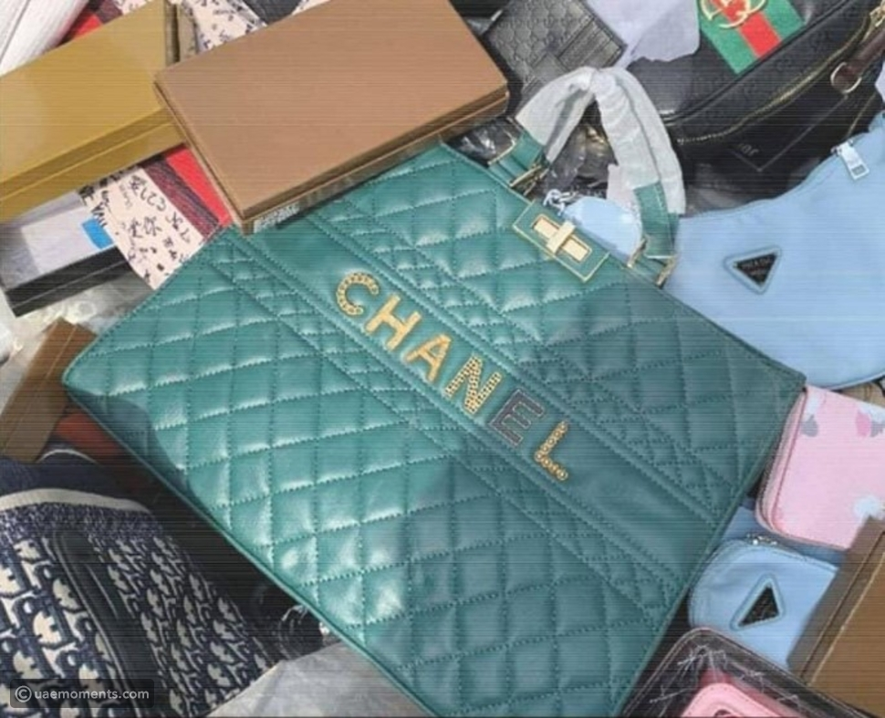 Pictures: Fake Luxury Products Worth AED30 Million Seized in Ajman