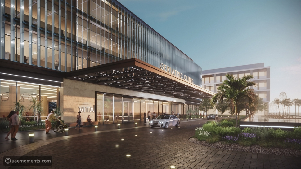 The First Specialised, Integrated Elderly Care Complex in The UAE