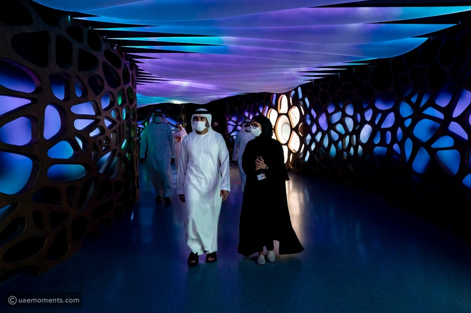 Amazing Images of EXPO 2020 From Sheikh Hamdans Tour