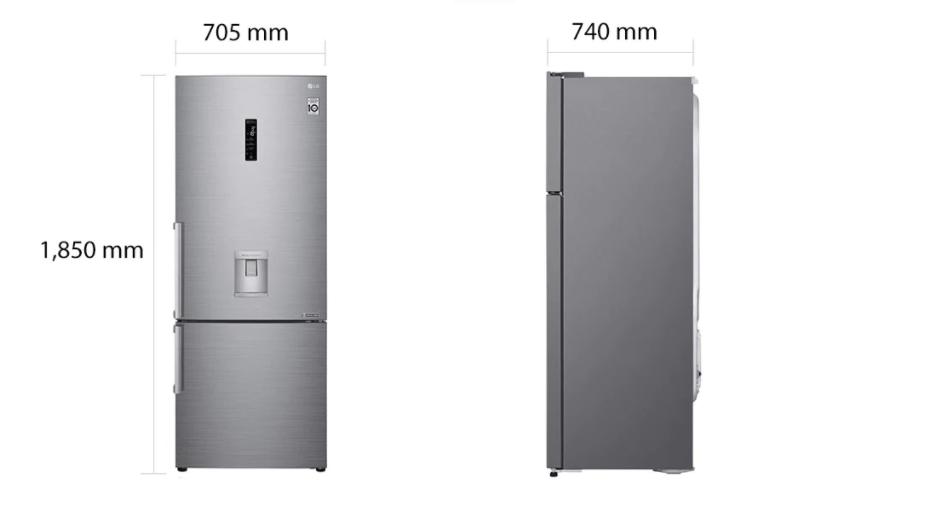 lg bottom freezer