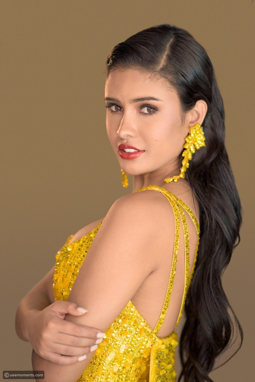 Miss Philippines Stuns in Dubai-Based Designer Dress