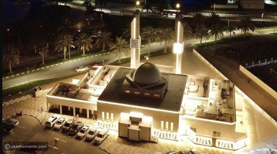 A Gorgeous New Mosque in Dubai
