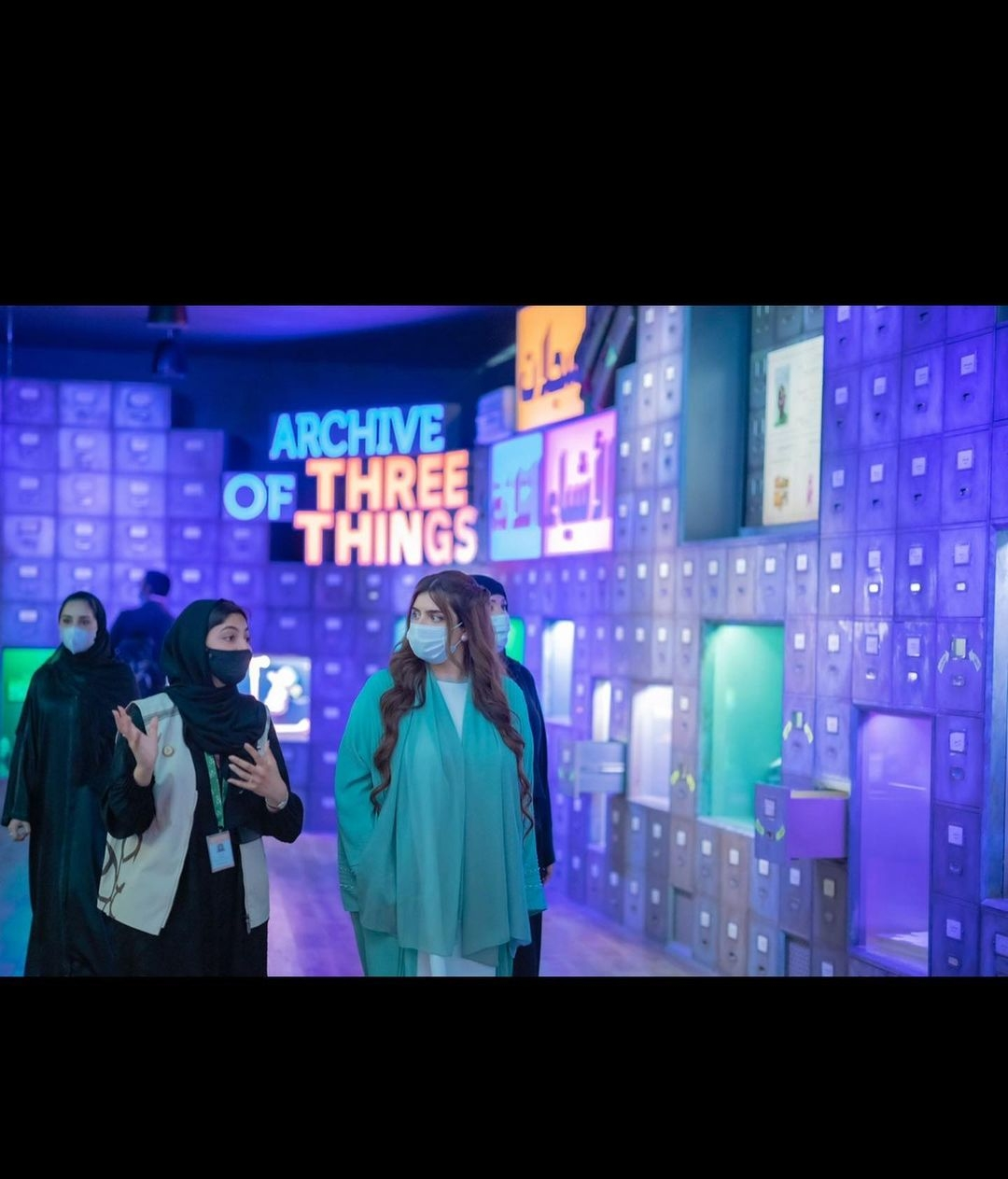 Sheikha Mahra Shares Glimpses from Her Visit to Expo 2020
