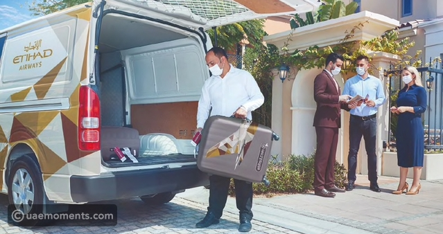 Etihad Offers Check-in Baggage Drop Off at Home Service