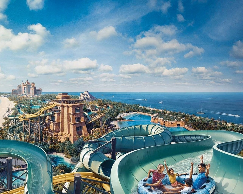 Best Waterparks to Enjoy This Summer in the UAE