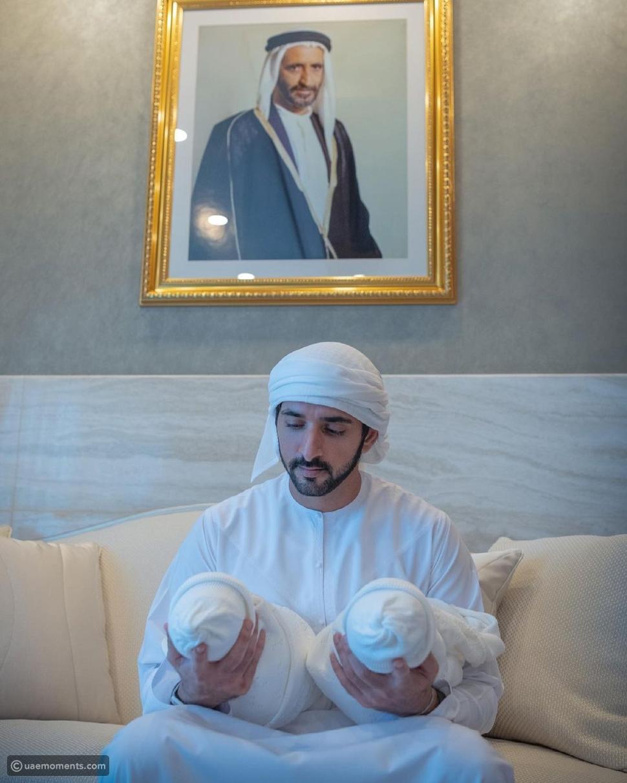 Sheikh Hamdan Teaches His Little Friend Maj How To Drive