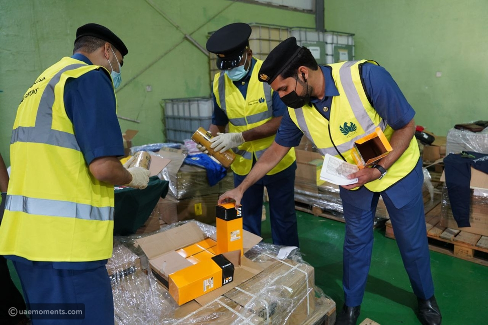 Dubai: Fake Brands Goods Worth AED1 Million Seized